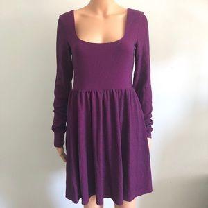 Purple Shimmery Free People Dress
